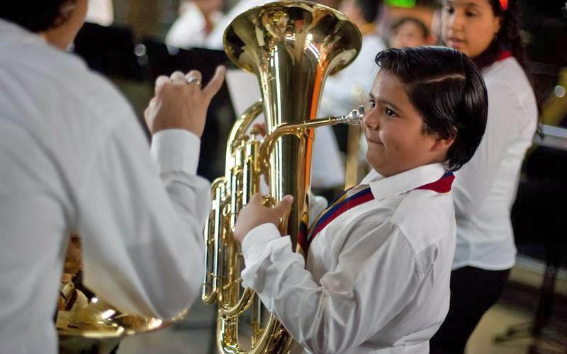 Ensamble de Metales de la Orquesta Sinfónica Juvenil de Chacao se presenta en la Sala José Félix Ribas
