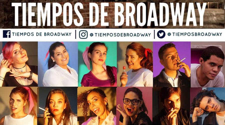 """""""Tiempos de Broadway"""" en el Salón Siglo XXI"""