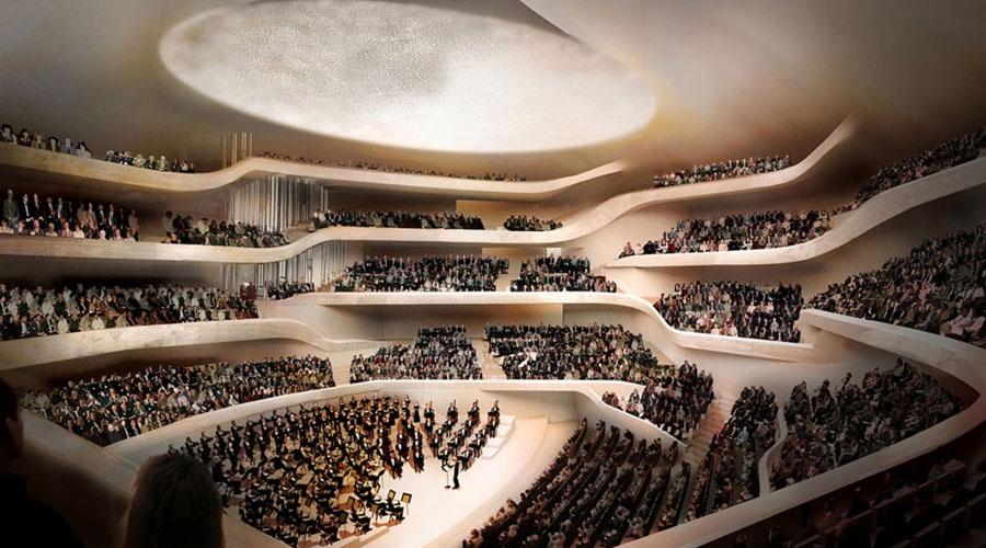 La Filarmónica del Elba: arquitectura para la música