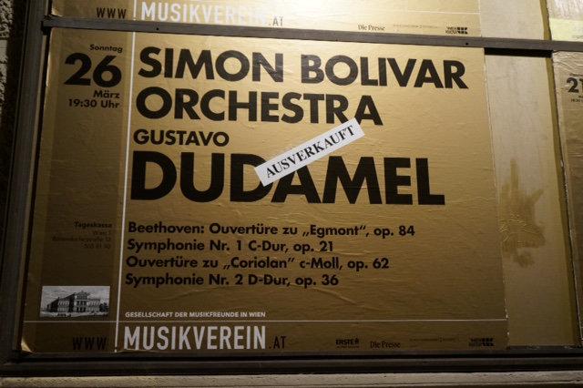 En Viena se agotaron las entradas para ver  a Gustavo Dudamel y la OSSBV