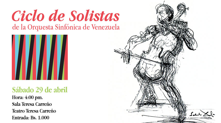 """La Sinfónica de Venezuela presenta este sábado """"Ciclo de Solistas"""""""