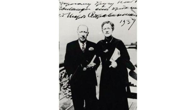 """Boulanger estuvo en la premiere de """"El Pájaro de Fuego"""", con música de Igor Stravisnky, en 1910."""