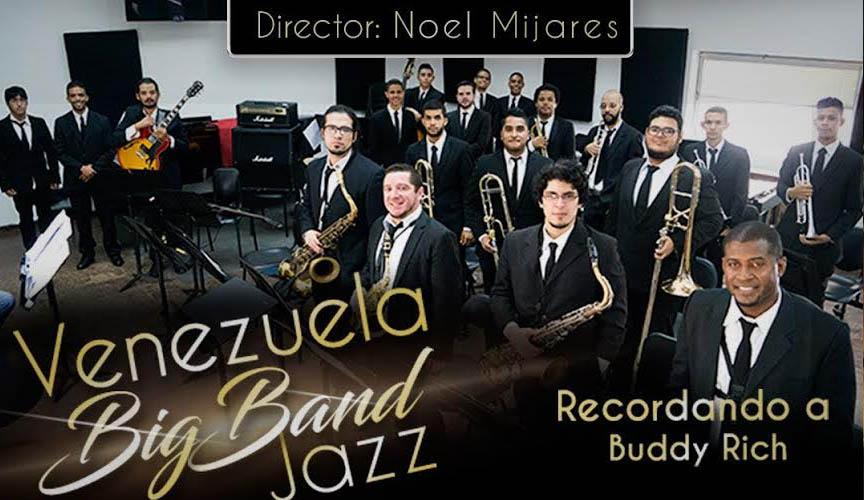 La Venezuela Big Band Jazz recordará al baterista estadounidense Buddy Rich