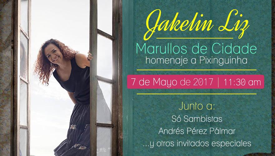 El choro brasileño inundará Trasnocho Cultural en la voz de Jakelin Liz