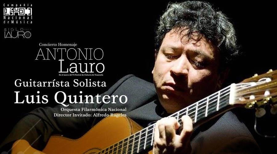 Dieciocho cuerdas y una orquesta para celebrar el Siglo Lauro