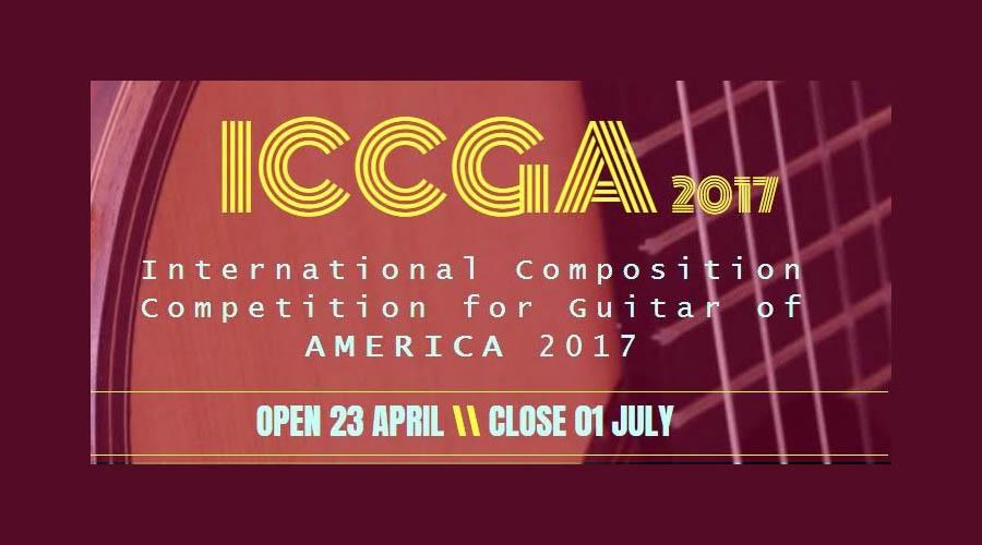 Concurso Internacional de Composición para Guitarra de América 2017
