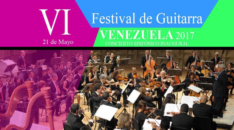 Dos conciertos inaugurarán el VI Festival de Guitarra de Venezuela 2017