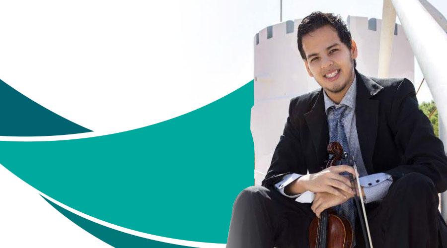 Hugo Castillo interpreta Aires Gitanos con la Orquesta Sinfónica de Falcón