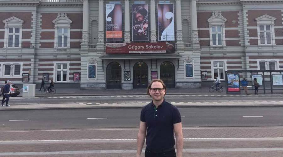 Christian Vásquez concluye gira por Europa con la Sinfónica de Stavanger