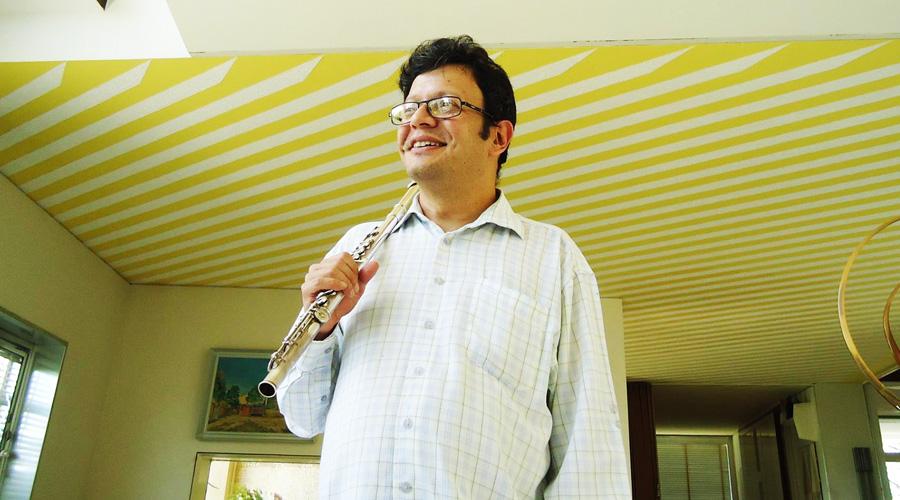 El venezolano Andrés Eloy Rodríguez estrena Concierto para dos flautas