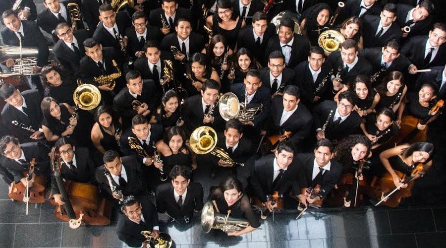 La Banda Sinfónica Juvenil Simón Bolívar y la Orquesta Sinfónica Juvenil se presentarán en el Teatro Teresa Carreño