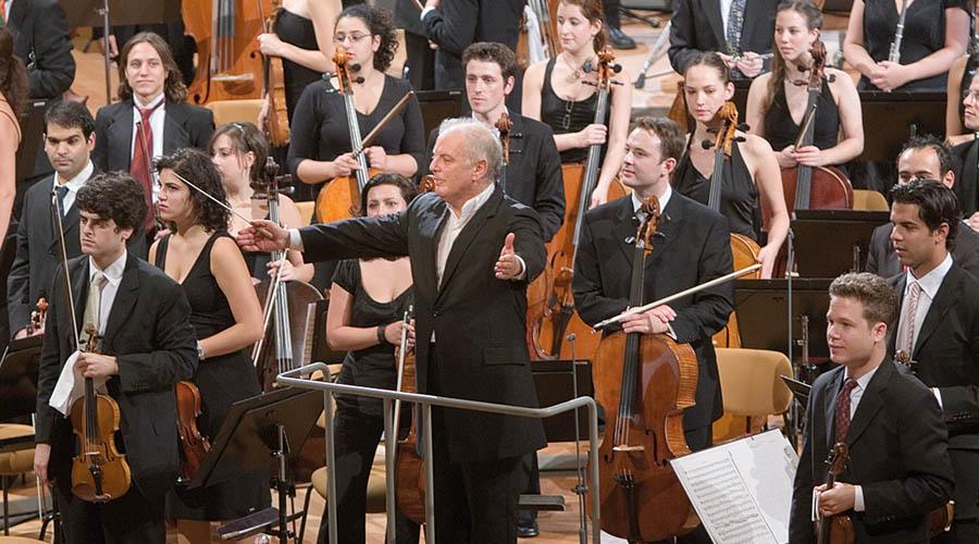 Daniel Barenboim y la West Eastern Divan Orchestra por primera vez en Chile