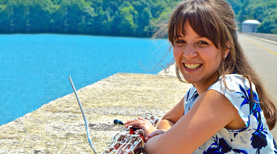 La fagotista venezolana Gabriela González se presentará con la Sociedad del Ensamble de Vientos de Nueva York