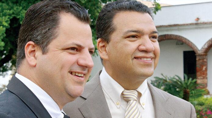 Efraín Lara y Javier Abi Harb