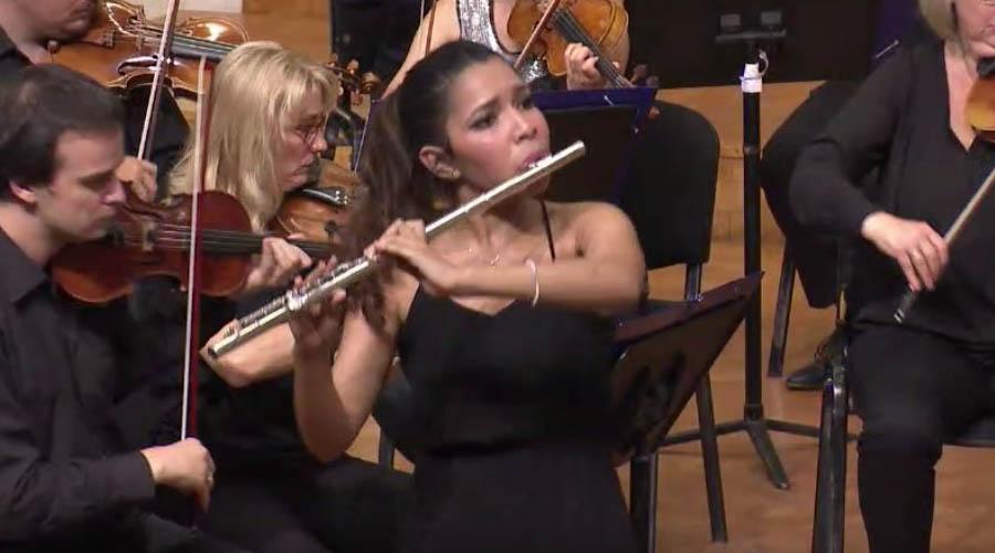 La flautista Joidy Blanco alcanza importante posición en dos Competencias internacionales