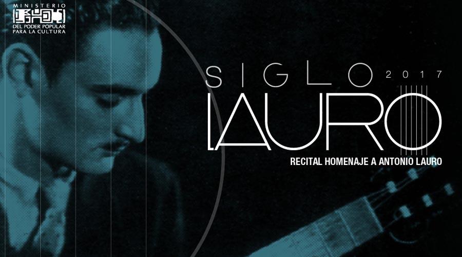Monagas conmemora 100 años del natalicio de Antonio Lauro