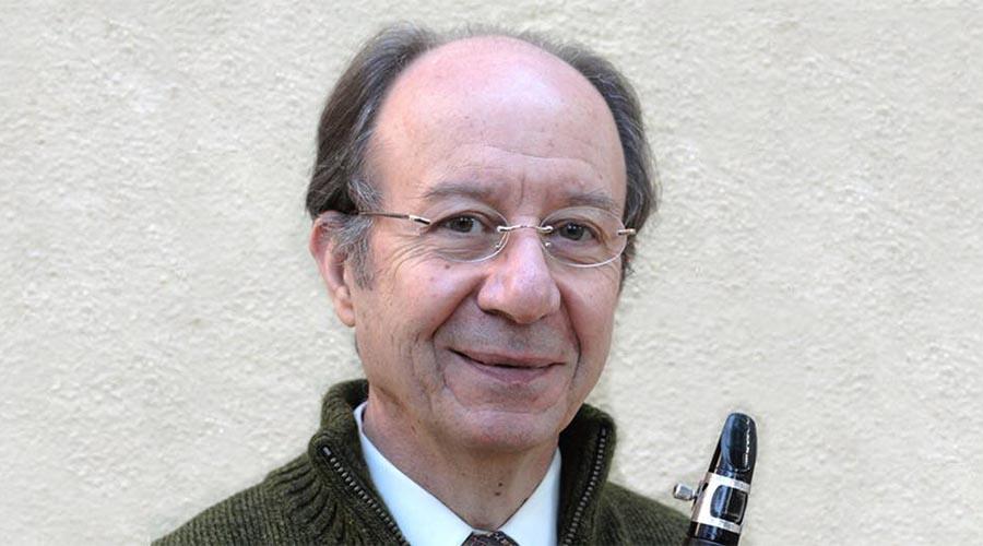 Premio para Luis Rossi, clarinetista y luthier