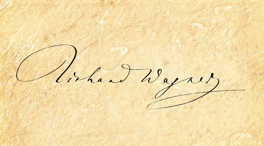Donan a la biblioteca de Montserrat una carta autógrafa de Richard Wagner