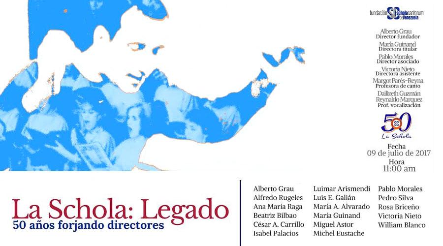 La Schola: Legado. Un encuentro para comprender la historia del Movimiento Coral Venezolano