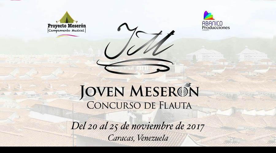 Inscríbete desde ahora para el Concurso Jóven Meserón