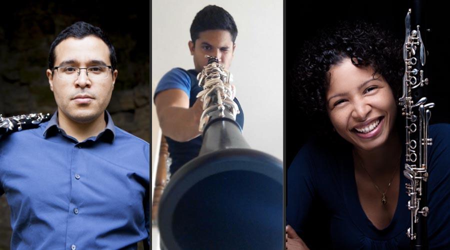 Un Recital de clarinetes en Tres Tiempos