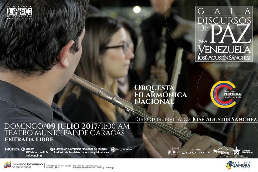 Música digital para un discurso de paz por Venezuela