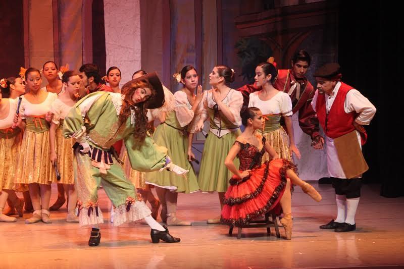 El Ballet de las Américas danza con el ingenioso Hidalgo en el Centro Cultural Chacao