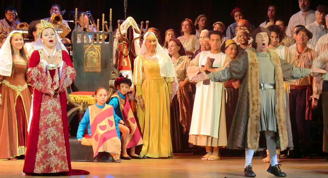Audiciones Ópera «Los Martirios de Colón» 2017