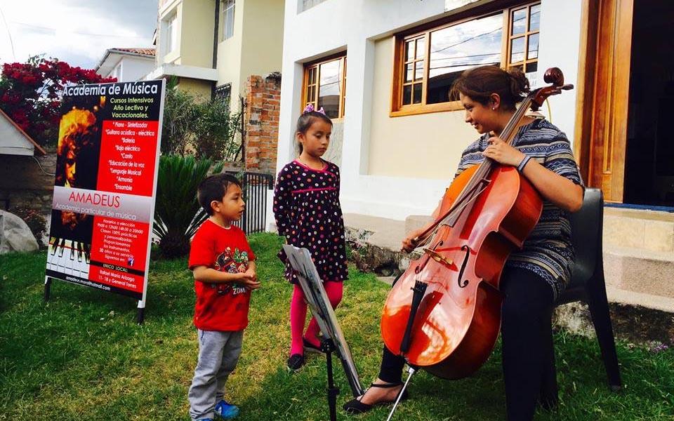 Amadeus: escuela para músicos