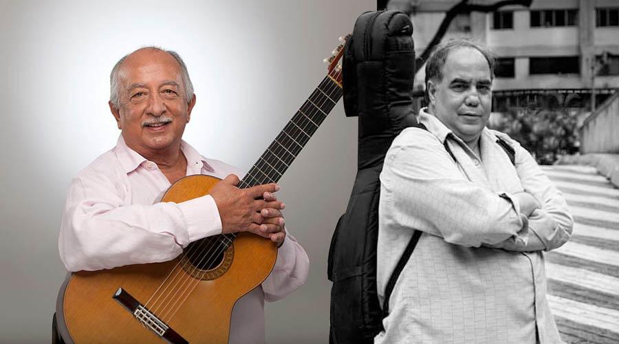 """Aquiles Báez y Miguel Delgado Estévez se juntan en «Venezuela es la familia, dos guitarras por la paz"""""""