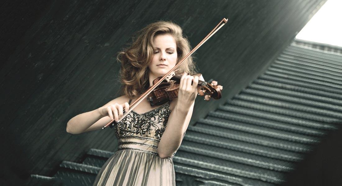 Veronika Eberle: una alemana que interpreta ritmos latinos con su violín