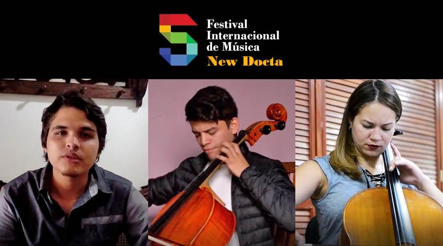 3 venezolanos en la Semifinal del II Concurso New Docta para Cuerdas