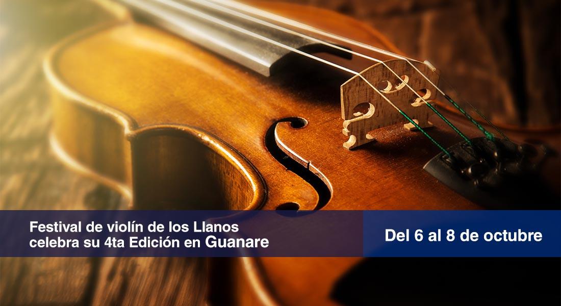 Festival de violín de los Llanos celebra su 4ta Edición en Guanare