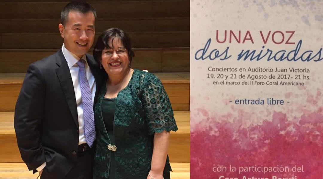 Lourdes Sánchez: un trabajo titánico y de hormiguita con los coros