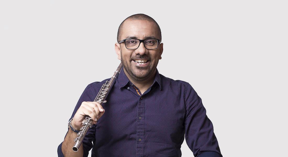 """La flauta de Manuel Rojas será protagonista en el concierto """"Sólo y bien acompañado"""""""