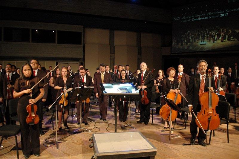 Orquesta Filarmónica Nacional convoca a II Ciclo de Audiciones 2017