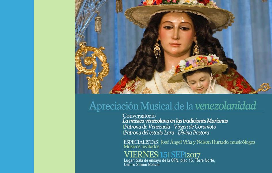 FCNM realiza talleres de tradiciones musicales marianas en Venezuela