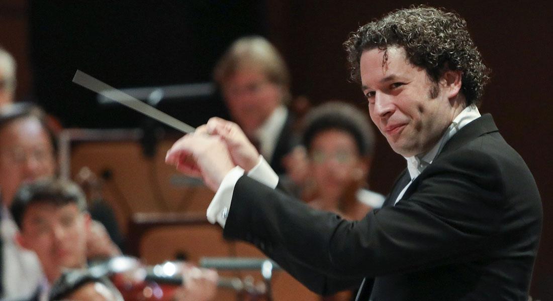 La Filarmónica de Viena y Dudamel en México, en 2018