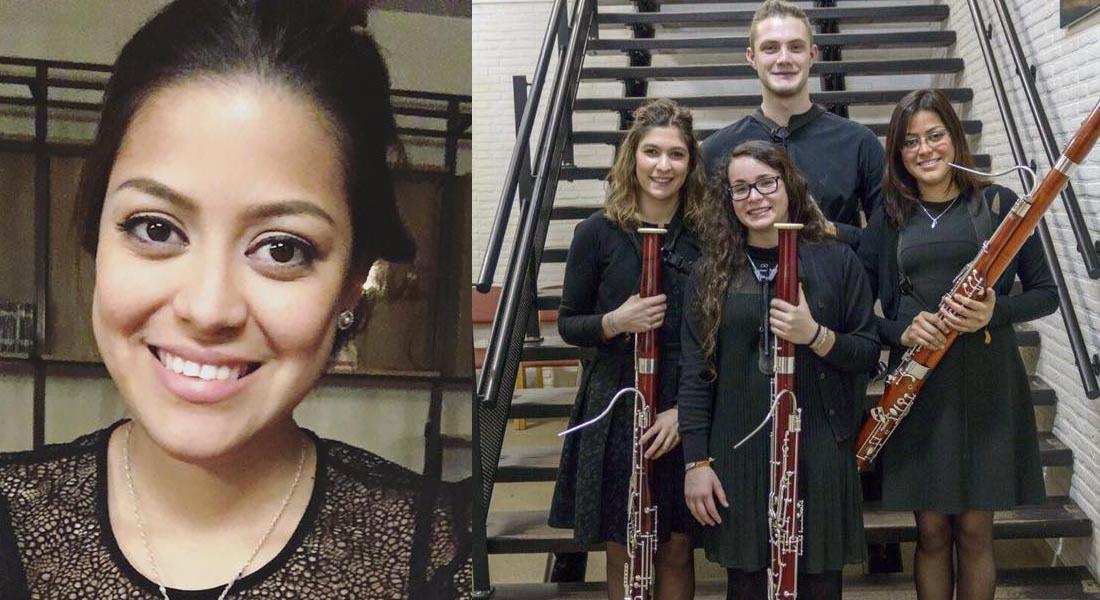 Apoyemos a la fagotista venezolana Zorioscar Urbina para que se convierta en una artista Amadeus