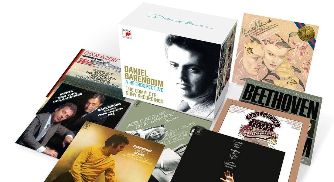 Sony Classical publica colección de grabaciones de Daniel Barenboim