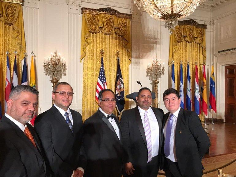Inicio Variedades Falconiano Demian Martínez llega con su música a la Casa Blanca de EE.UU.
