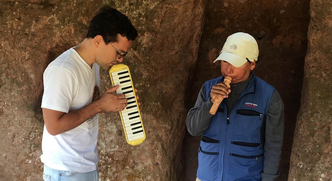 José Sánchez asume el reto de presentar un concierto de piano en el Salar de Uyuni