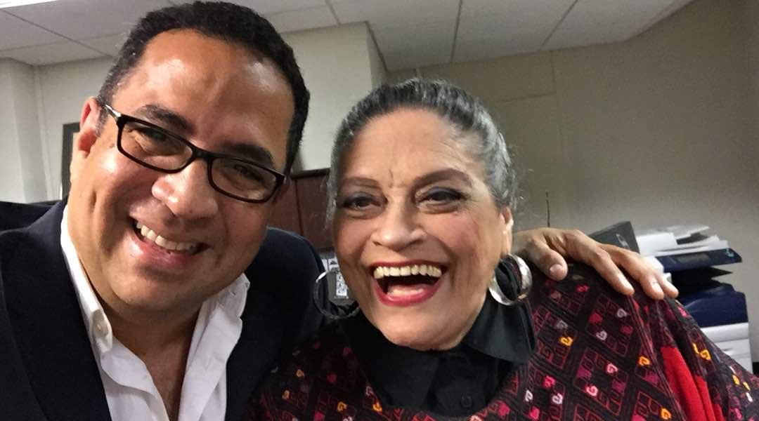El mágico encuentro entre Eddy Marcano y Soledad Bravo