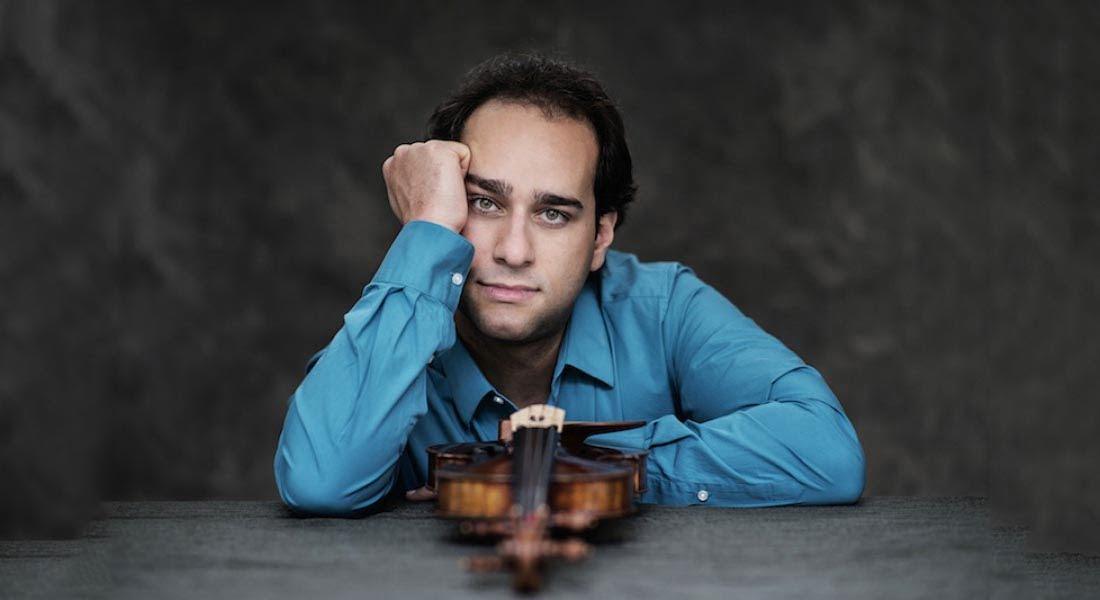 El violinista ítalo venezolano Giovanni Guzzo actuará como solista con la Orquesta Sinfónica de la UNCuyo