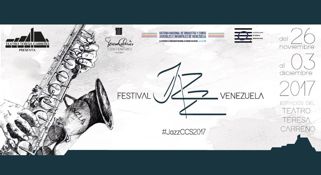 Teatro Teresa Carreño al ritmo del Jazz