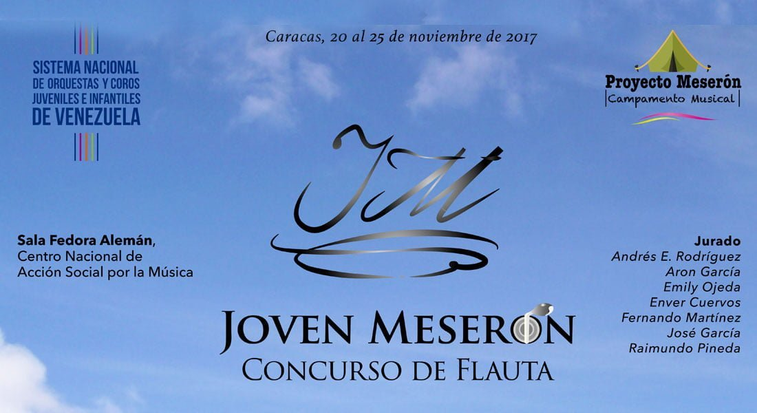 Inicia el concurso más complejo para flautistas venezolanos