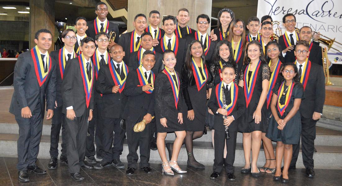 La Orquesta Infantil y Juvenil Latina Simón Bolívar demostrará su madurez en el Teresa Carreño
