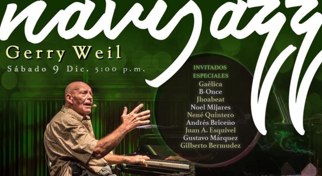 Gerry Weil y su Navijazz «un concierto de jazz en época de Navidad»