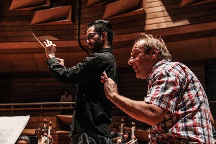 El holandés Dick van Gasteren dirige a la Sinfónica Simón Bolívar este viernes