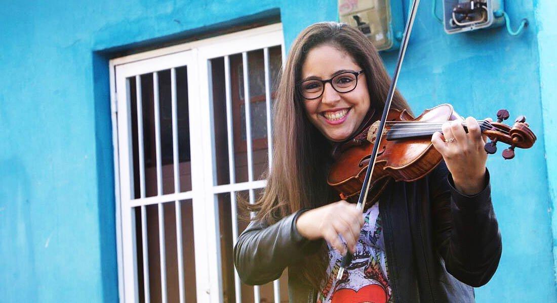 La violista Daniela Padrón presenta un trabajo audiovisual que conjuga los ritmos venezolanos con la majestuosidad barroca